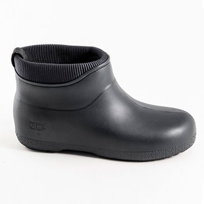 NORDIC GRIP Ankle Wellies in Black