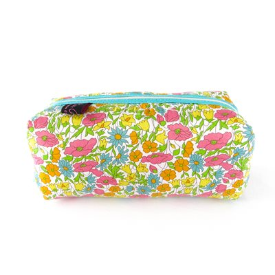 POPPY & DAISY LIBERTY BOX COSMETIC BAG