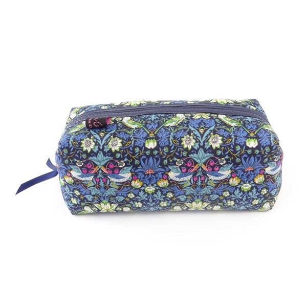 Strawberry Thief Liberty Box Cosmetic Bag