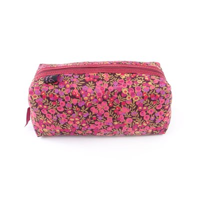 WILTSHIRE LIBERTY BOX COSMETIC BAG