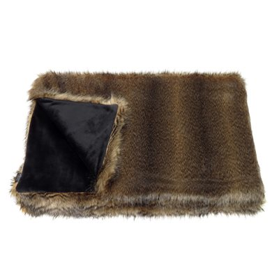BRANDY FAUX FUR COMFORTER