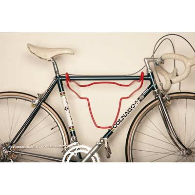 TROPHY BULL BIKE HOLDER in Red Soft Touch