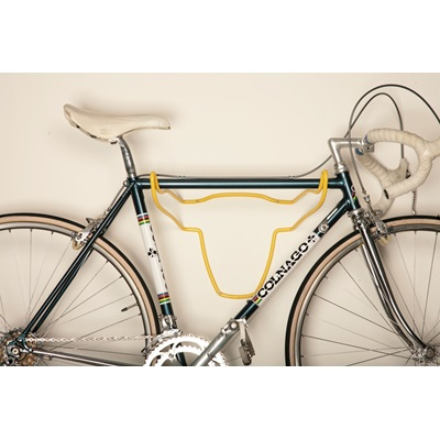 TROPHY BULL BIKE HOLDER in Yellow Soft Touch