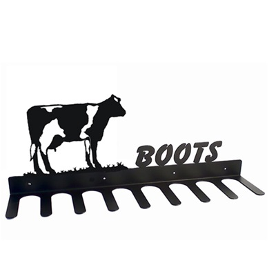 BOOT RACK in Buttercup Dairy Cow Design
