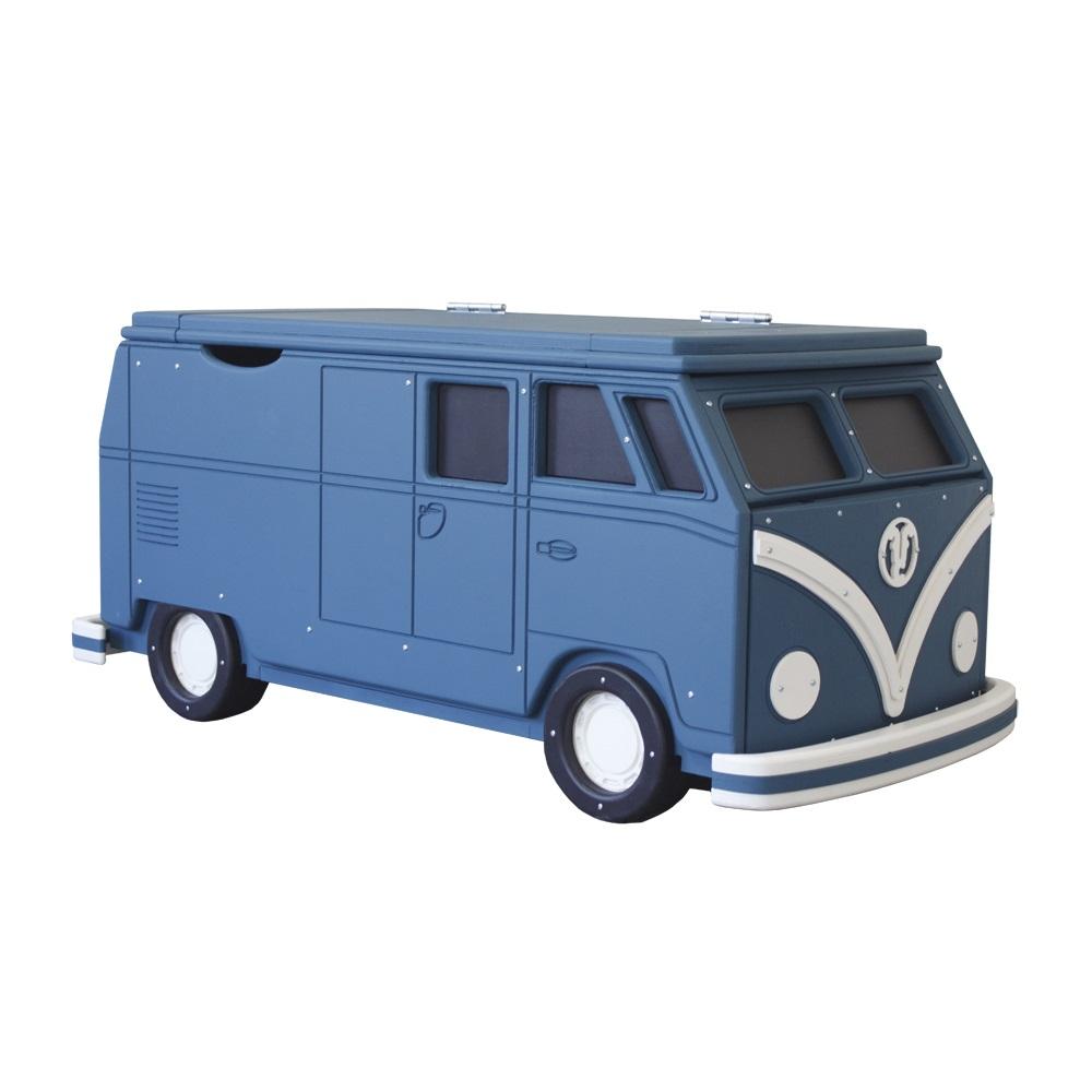 Vw camper van large toy chest storage fun furniture for Camper storage