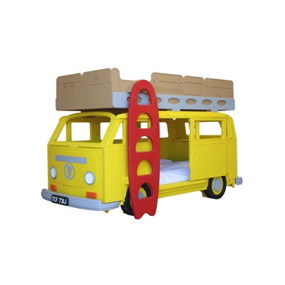 Camper Van Bay Children's Bunk Bed