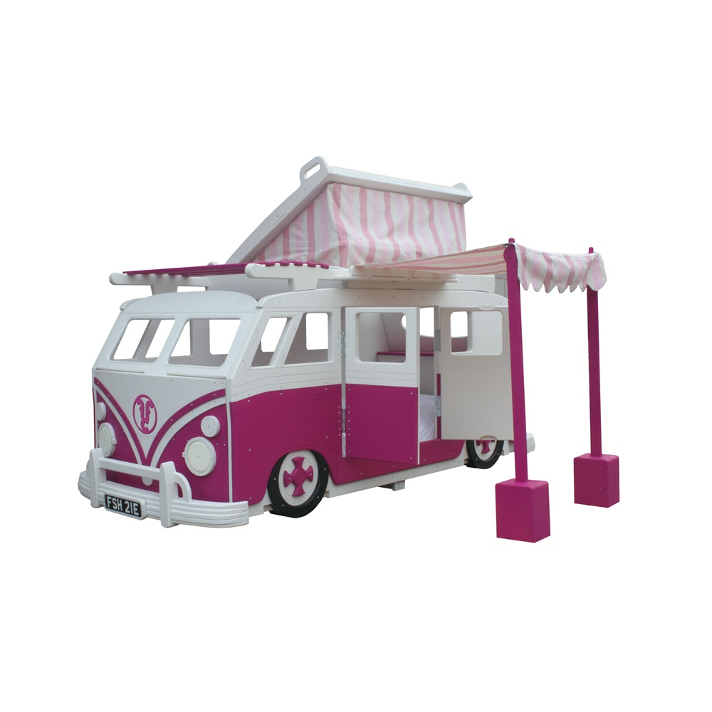 Camper Van Childrens Bed With Pop Top