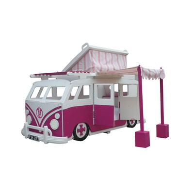 c&er1-van-bed-with-pop-up-tent.jpg ...  sc 1 st  Cuckooland & Camper Van Childrenu0027s Bed With Pop Top - Girls Beds | Cuckooland