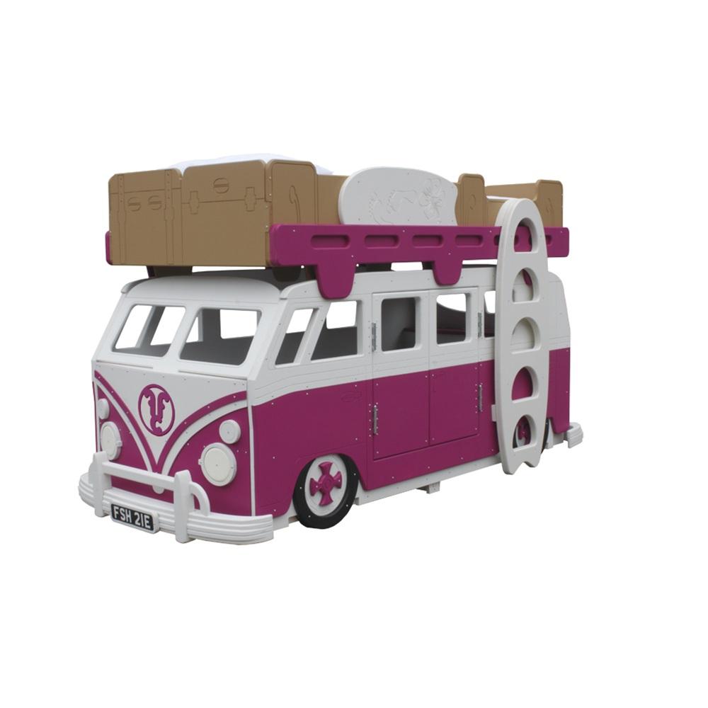 Camper Van Children 39 S Bunk Bed Girls Beds Cuckooland