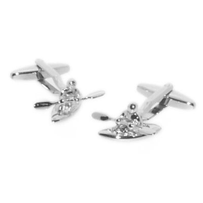 MENS CUFFLINKS in Canoe Design