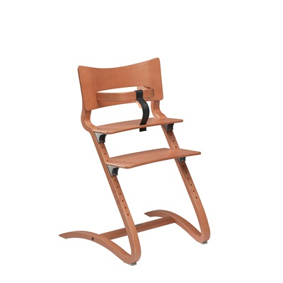 LEANDER High Chair in Cherry