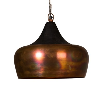 DUTCHBONE COCO INDUSTRIAL CEILING LAMP in Metallic Copper