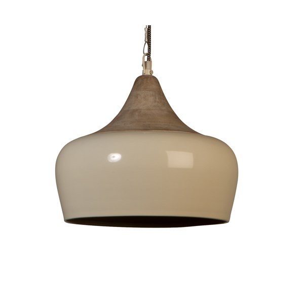 Dutchbone Coco Pendant Light in Ivory