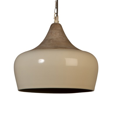 DUTCHBONE COCO INDUSTRIAL CEILING LAMP in Ivory