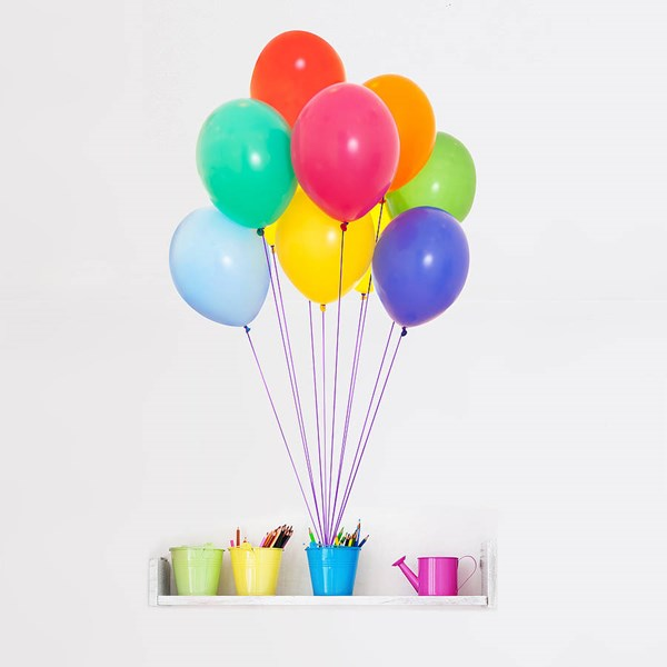 COLOURFUL BALLOONS WALL STICKER