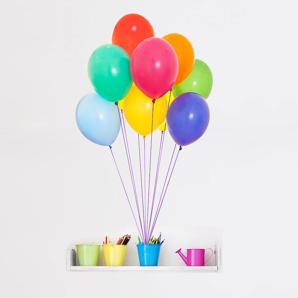 Colourful Balloons Wallpaper Colourful Balloons Wall