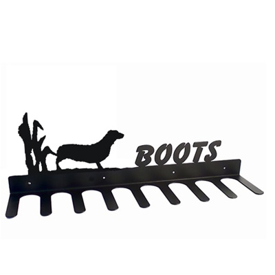 BOOT RACK in Dachshund Design