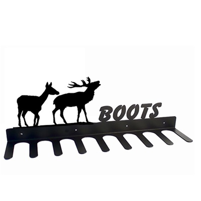 BOOT RACK in Pair of Deer Design
