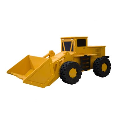 DIGGER TOY BOX STORAGE