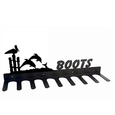 BOOT RACK in Dolphin Design