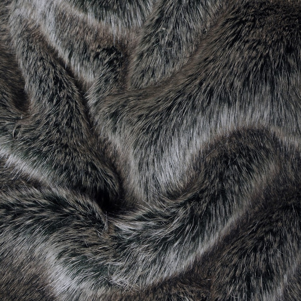 Faux Fur Dog Blanket In Charcoal - Dog Towels
