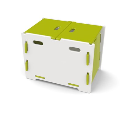 EASY FIT KIDS STORAGE BOX in 'Frog Collection' Design