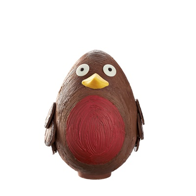 GIANT Chocolate Christmas Robin