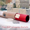 Packaging for wall stickers consists of a protective cylindrical box