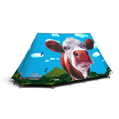 GLASTO COW TENT by Field Candy