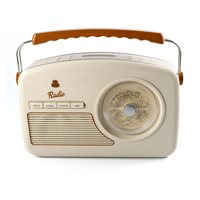 GPO RYDELL VINTAGE DAB RADIO in Cream