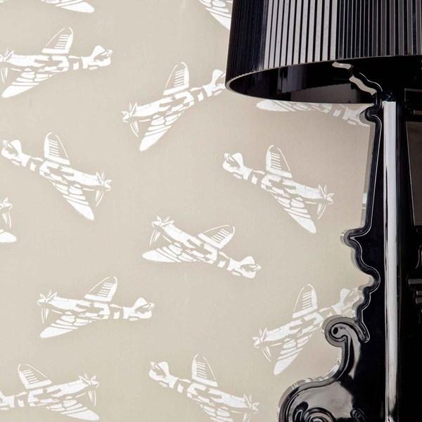 Wallpaper in Spitfire Design