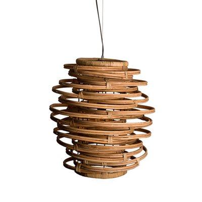 KUBU RATTAN HANGING LAMP