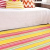 Bright Happy Yellow Striped Indoor & Outdoor Rug