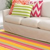 Happy Yellow Indoor Outdoor Rug