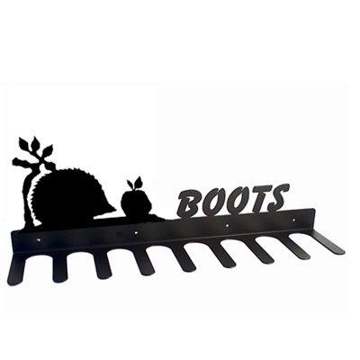 BOOT RACK in Hedgehog Design