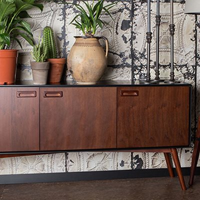 JUJU HIGH SIDEBOARD CABINET in Retro Design