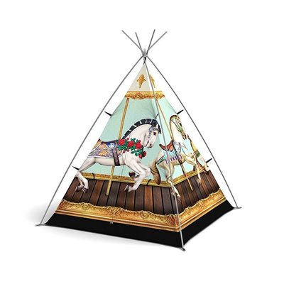 HOLD YOUR HORSES KIDS TENT by Field Candy