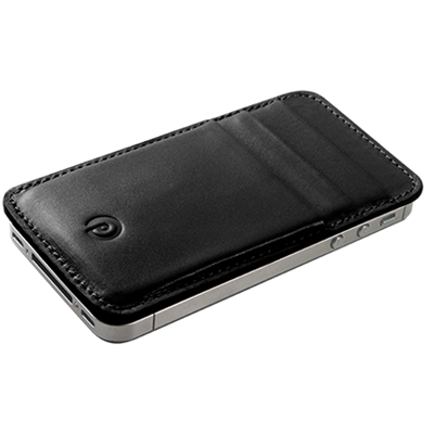 PATRONA MAGNETIC iPhone Wallet in Black