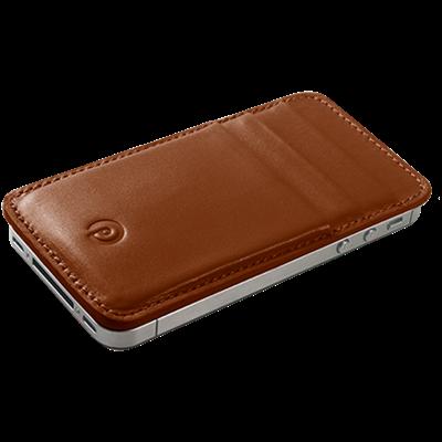 PATRONA MAGNETIC iPhone Wallet in Acorn Brown