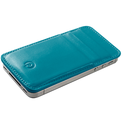 PATRONA MAGNETIC iPhone Wallet in Kingfisher Blue