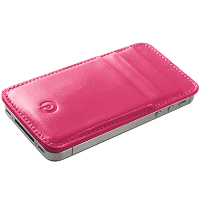 PATRONA MAGNETIC iPhone Wallet in Rhubarb