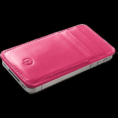 PATRONA MAGNETIC iPhone Wallet in Rhubarb