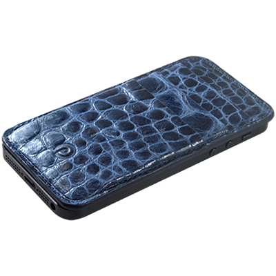 PATRONA MAGNETIC iPhone 5 Wallet in Crocodile Fly Catcher
