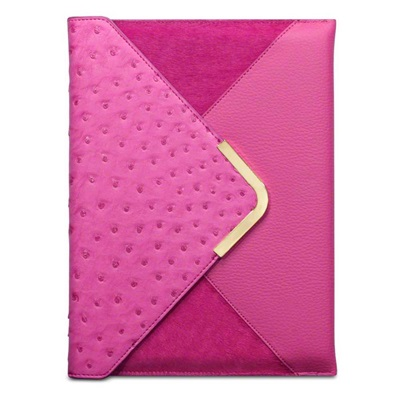SUKI Faux Leather Ipad Case in Pink by Covert