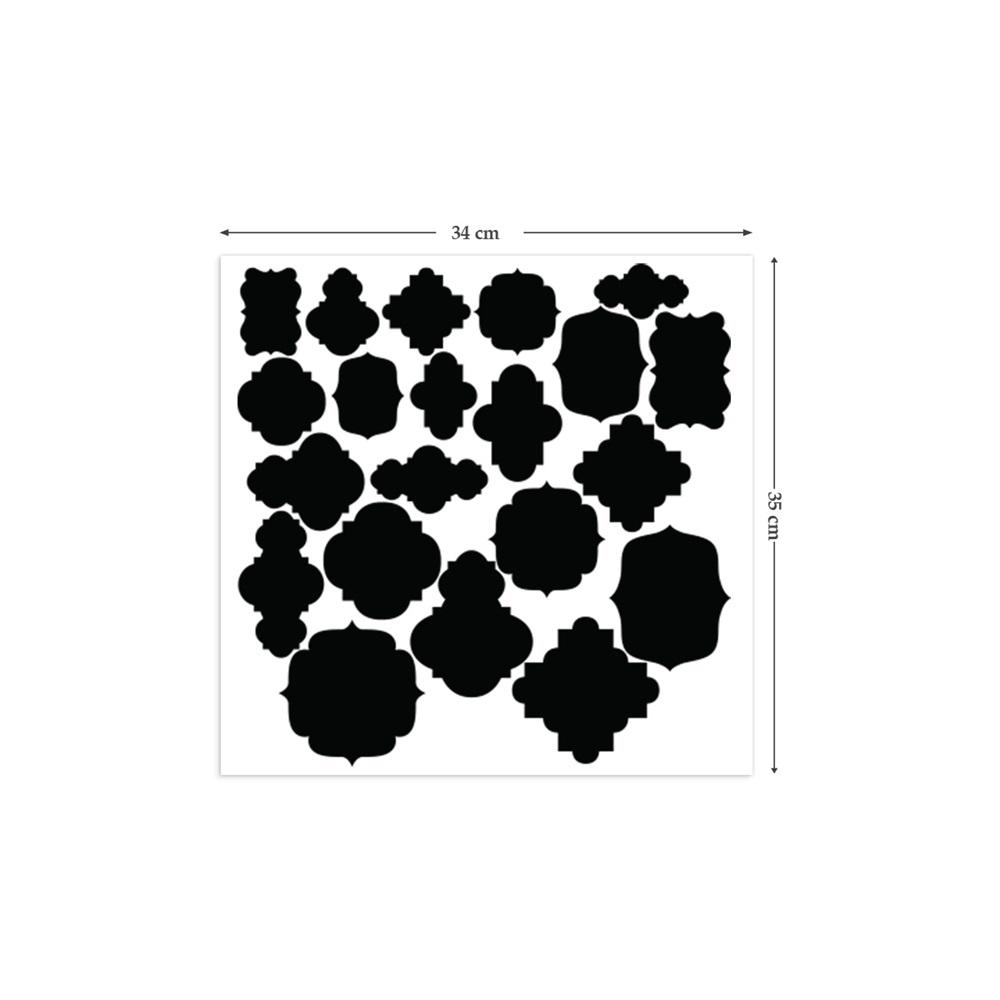 Chalkboard wall sticker in 39 labels 39 design kitchenware cuckooland - Produit la bel lande ...