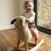 Rocking Horse in Lamb Design