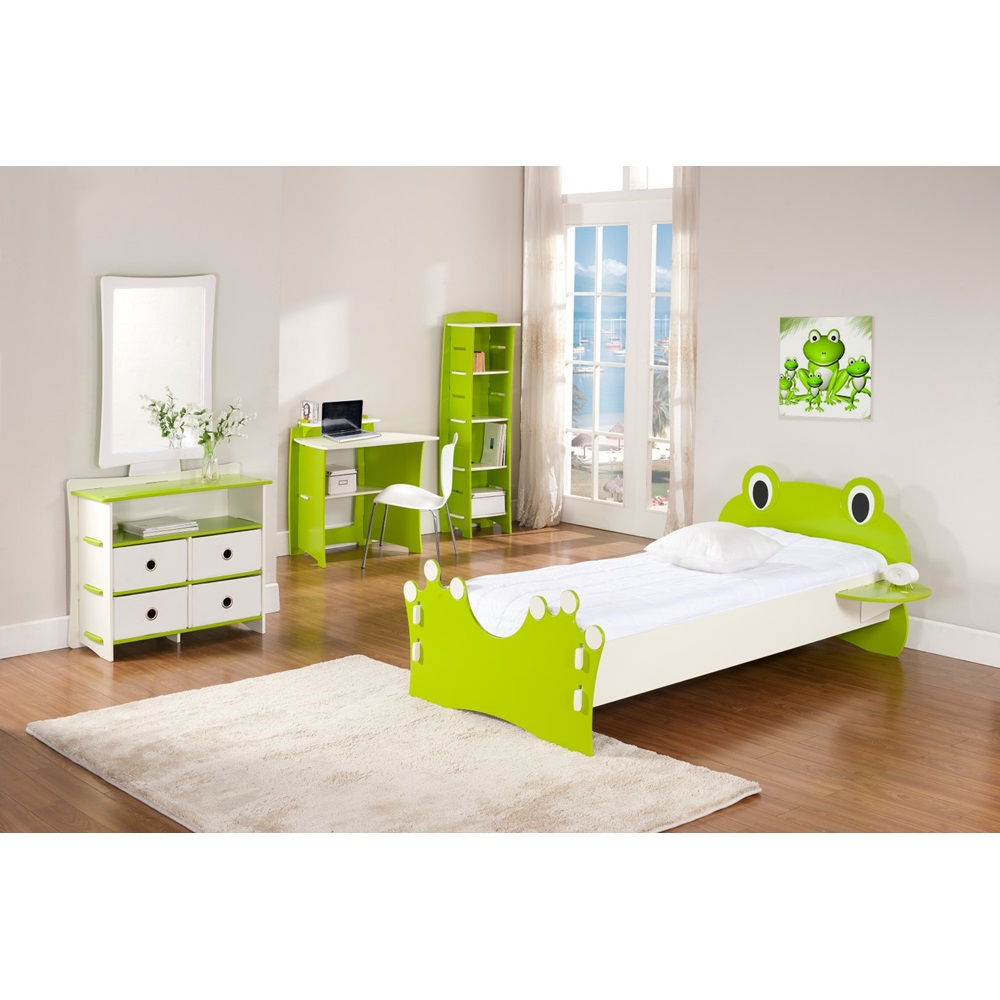 Easy Fit Kids Bed In Frog Collection Design Beds