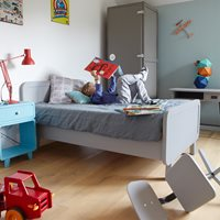 ROND SINGLE KIDS BED