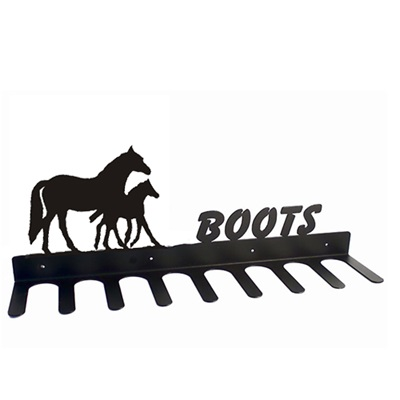 BOOT RACK in Mare Foal Horse Design