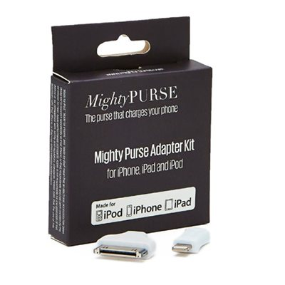 MIGHTY PURSE iPHONE ADAPTOR KIT for iPod iPhone iPad